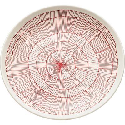 Plato Net rojo Ø27cm