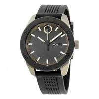 Reloj análogo negro-negro 0452