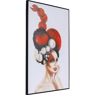 Cuadro Art Lady In Red 120x80cm