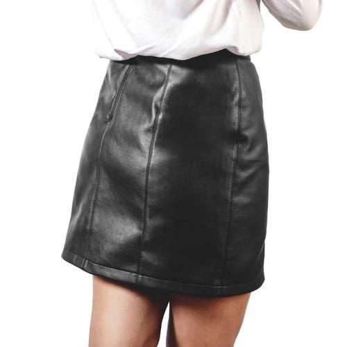 Falda Alicia Color Siete Para Mujer  - Negro