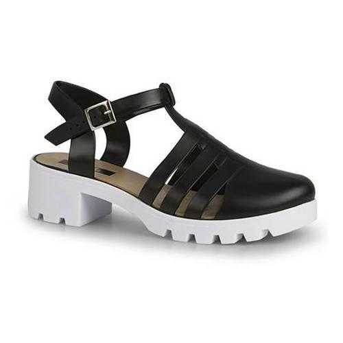 Zapatos Full Plastic 087 Johana Negro