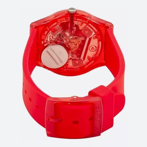 Reloj Analógico Rojo Blanco Rojo 178