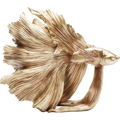 Objeto decorativo Betta Fish oro peq.