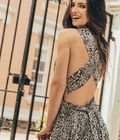 MAXIVESTIDO ANIMAL PRINT - Sale Spirito