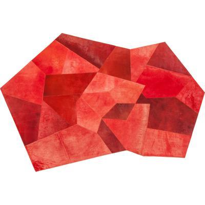 Alfombra Asymmetric rojo 240x170cm