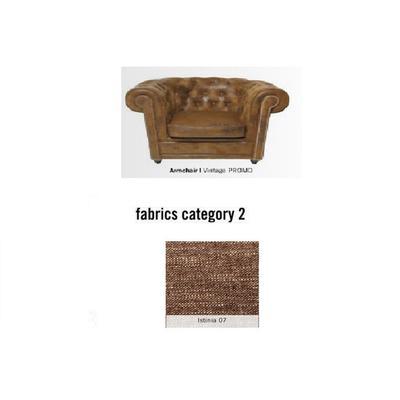 Poltrona Cambridge, tela 2 - Istinia 07  (115x76x92cms)