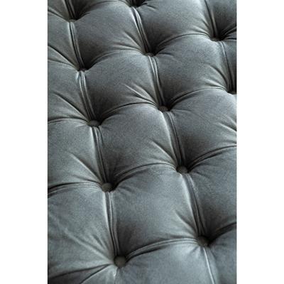 Tumbona Bottone Velvet gris