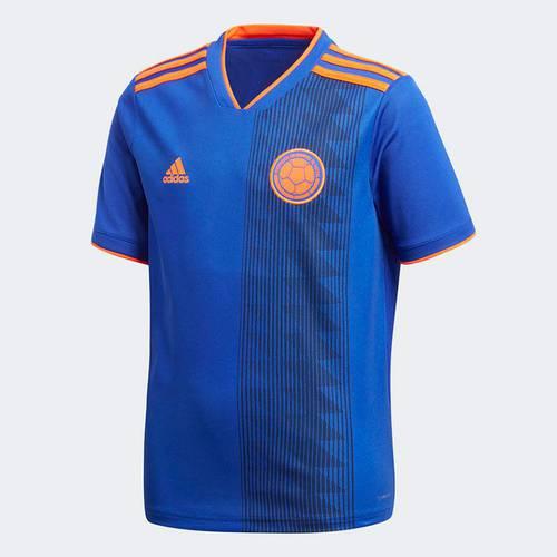 Camiseta Niño Fcf A Jsy Y Boblue/Solred Azul Br3493 Azul - Br3493 - Adidas