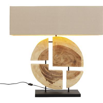 Lámpara mesa Geometrix marrón