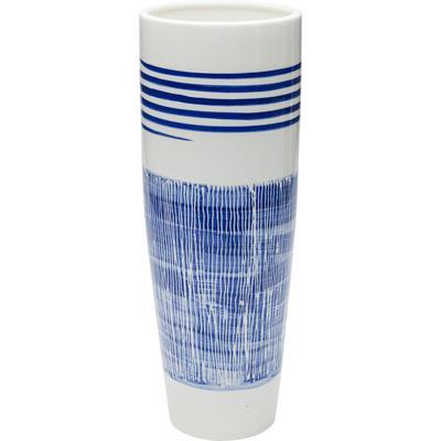 Vasija Grid Blue Line 40cm