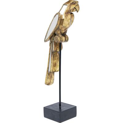Objeto deco Mirrored Parrot 53cm