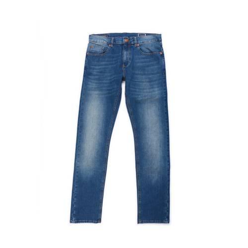 Jean Tribecca Color Siete Para Hombre - Azul