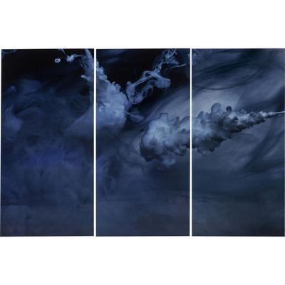 Cuadro cristal Triptychon Clouds  160x240cm (3/Set