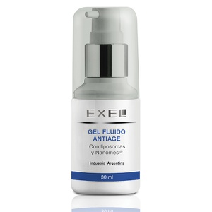 Gel fluido anti age con liposomas y nanomes. 30 ml