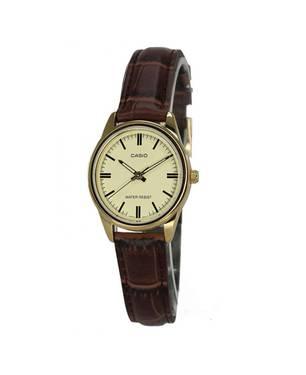 Reloj análogo beige-marrón L-9A