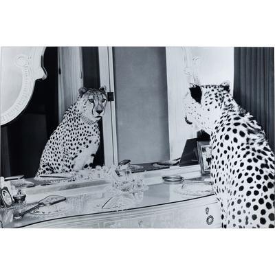 Cuadro cristal Metallic Gepard 100x150cm
