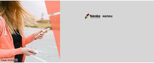 Teknikz y Remax, accesorios para tecnología