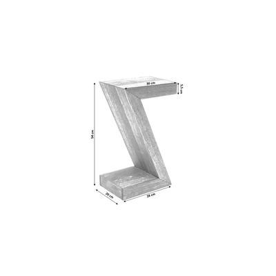 Mesa auxiliar Authentico Z 30x20cm