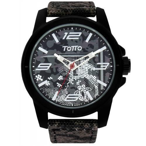 Reloj Negro/Estampado - Tr008-2