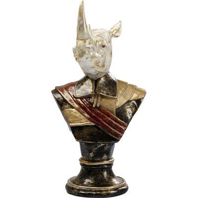 Objeto decorativo Bust Sir Rhino 97cm