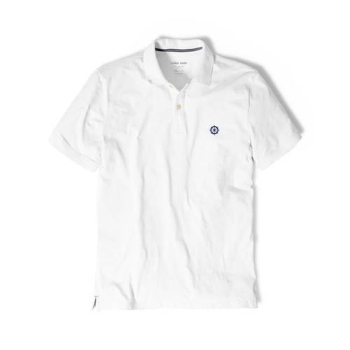 Polo Color Siete Para Hombre Blanco - Timón