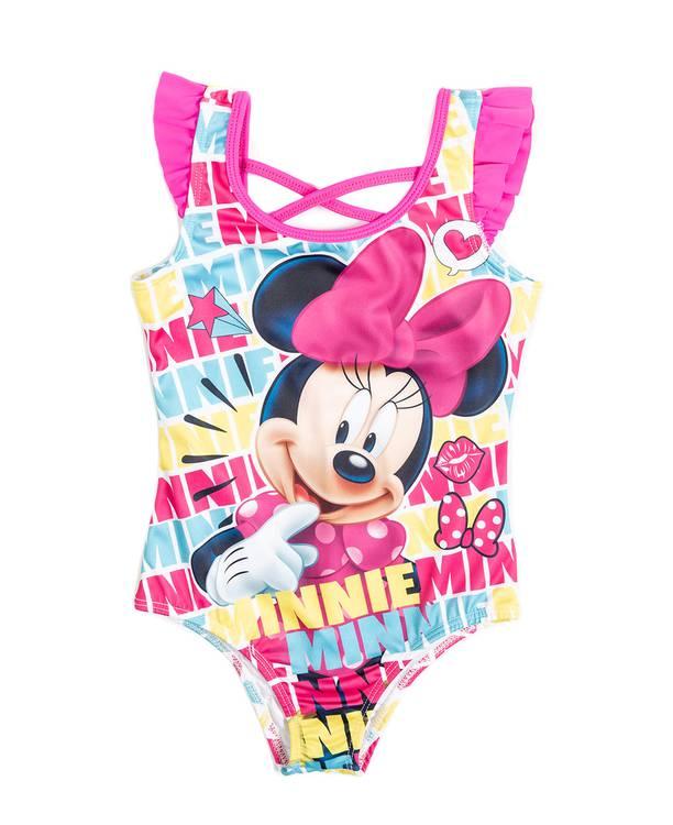 Vestido Baño Entero Niña Minnie