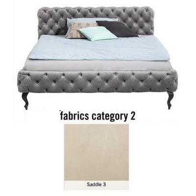 Cama Desire, tela 2 - Saddle 3,   (100x157x228cms), 140x200cm (no incluye colchón)