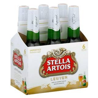 Cerveza Stella Artois Botella Sixpack 330ml