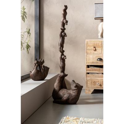 Objeto decorativo Artistic Bears Balance 121cm