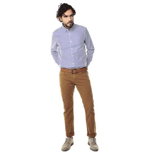 Pantalon para Hombre Cleaverlander Color Siete - Cafe