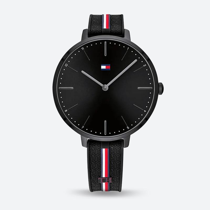 Reloj análogo negro-negro 2155