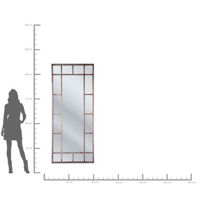Espejo Window Iron 200x90cm