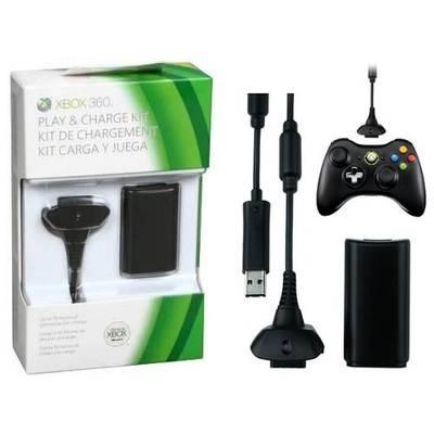 Kit Carga y Juega Xbox 360