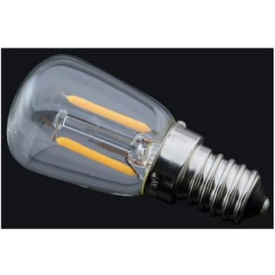 Bombilla de filamento LED ST26 transparente