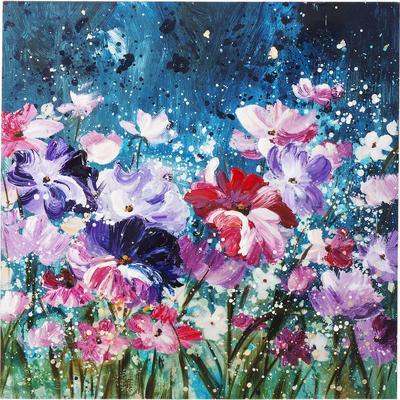 Cuadro Flower Garden 100x100cm