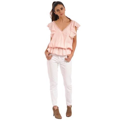Blusa Lucile Color Siete Para Mujer - Rosado