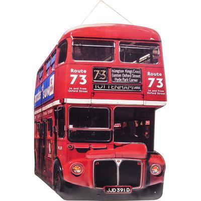 Decoración pared Tottenham Bus