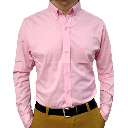 Camisa Manga Larga Rosada