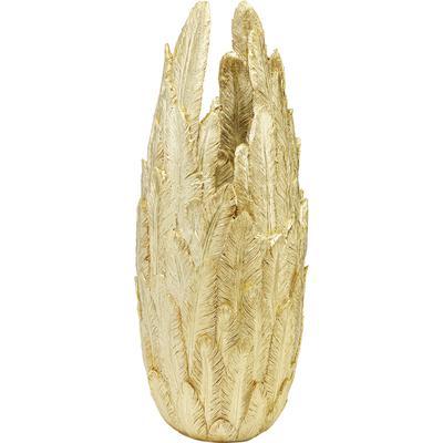 Vasija Feathers oro 80cm