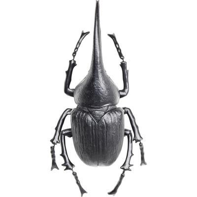Decoración pared Herkules Beetle mate negro