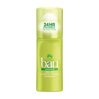 Ban Roll-On Antiperspirant Deodorant Unscented 44 Ml