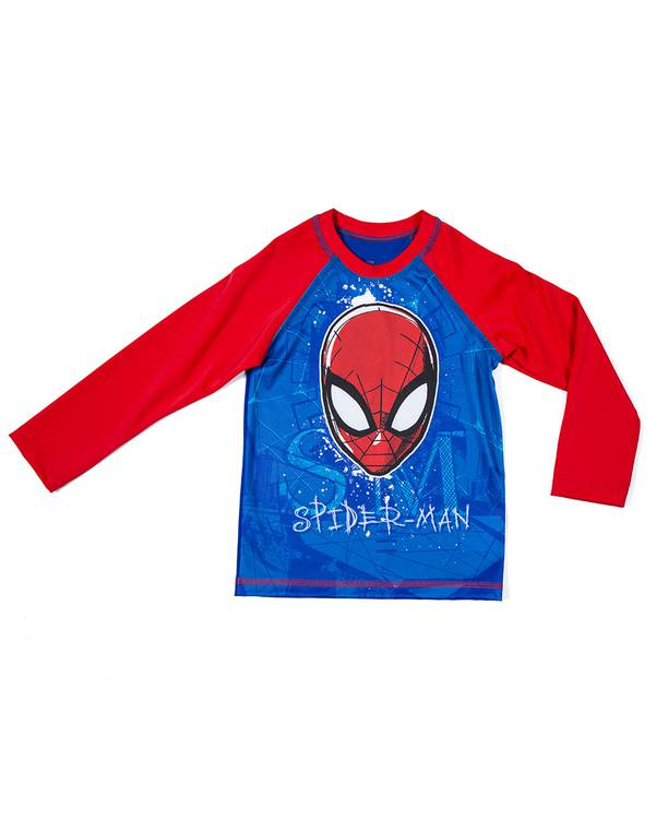 Camiseta Baño Niño  Spiderman