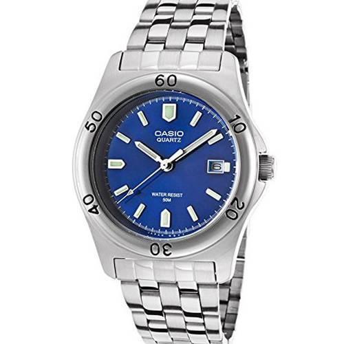 Reloj Análogo Azul-Plateado A-2A - Casio