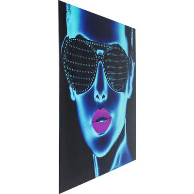 Cuadro cristal Tough Girl 120x120cm