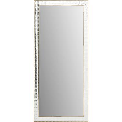 Espejo Crystals Steel oro 180x80cm