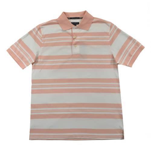 Camiseta Polo Nal Rayas Jersey 540-24 Rosado - ARTURO CALLE
