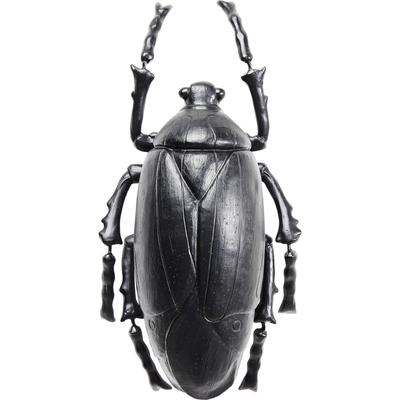 Decoración pared Plant Beetle mate negro