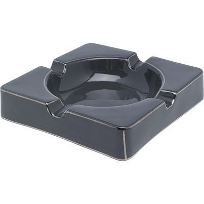 Cenicero Symmetric gris 24x24cm