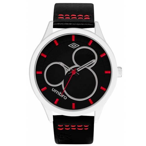 Reloj Plateado/Negro - Umb-Mm02-5