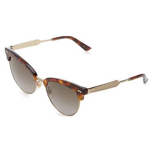 Gafas de sol havana-oro-café 5S-002